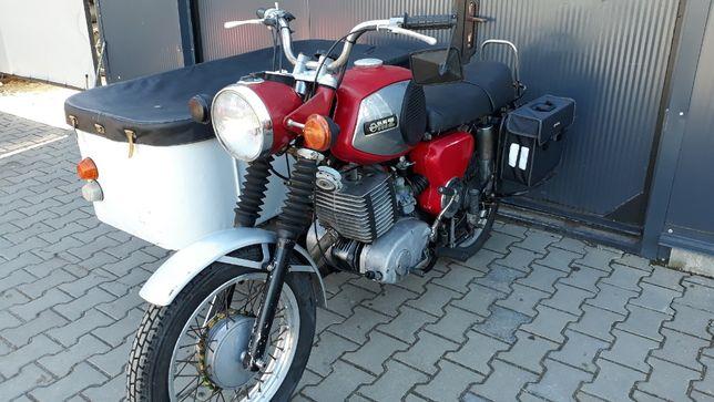MZ 250z wózkiem towarowym- motobazar-prl.pl