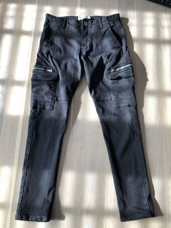 Czarne spodnie Zara 10lat