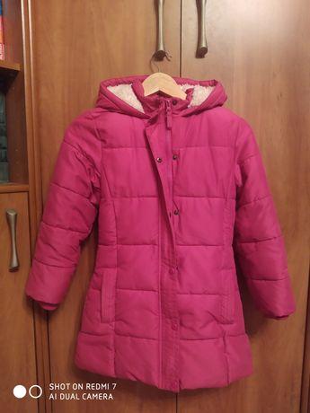 Продам теплое осеннее пальто на девочку