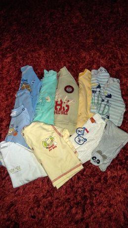 Ubranka dla chłopca - 12 sztuk.