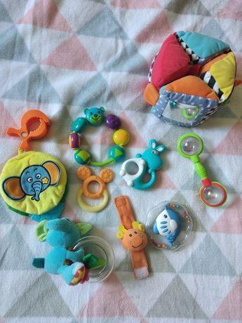 Игрушки для малыша, погремушка, развивающий куб,подвеска на коляску