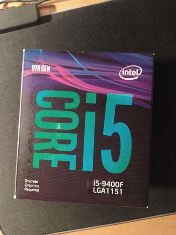 Коробка от Intel i5 9400f
