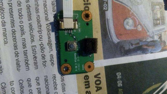 Botão ligar/desligar portátil Insys Gameforce M761