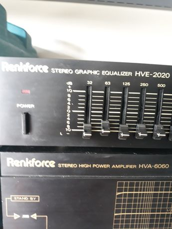 AmplifierHVA 6060 Renkforce i equalizer