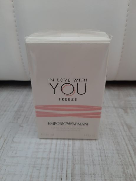Giorgio Armani In Love With You Freeze oryginał 30 ml EDP