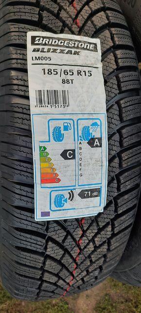 Nowe opony zimowe Bridgestone 185/65r15 komplet 2020r +Gratis