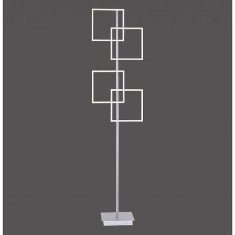 Nowoczesna minimalistyczna lampa stojąca LED ciepłe zimne pilot INIGO