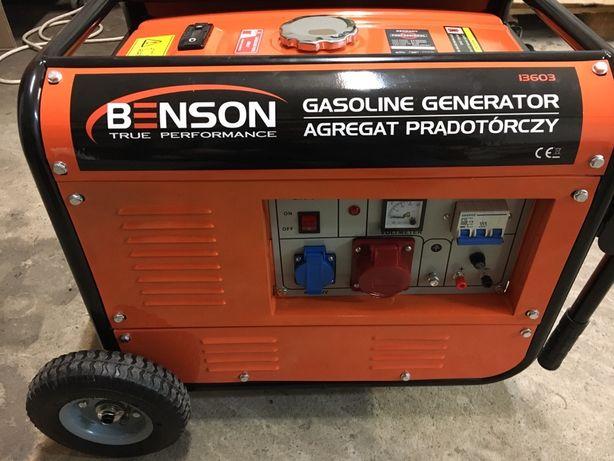 Agregat prądotwórczy 6,7 kW. Benson 13603,