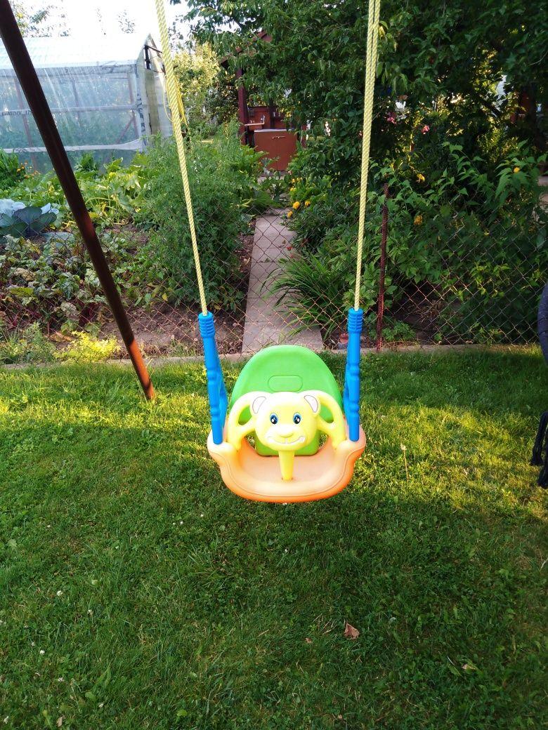 Huśtawka  ogrodowa dla niemowląt