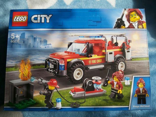 Nowe klocki Lego orginal 60231straz pozarna ratownicy