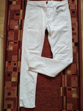 Spodnie białe H&M