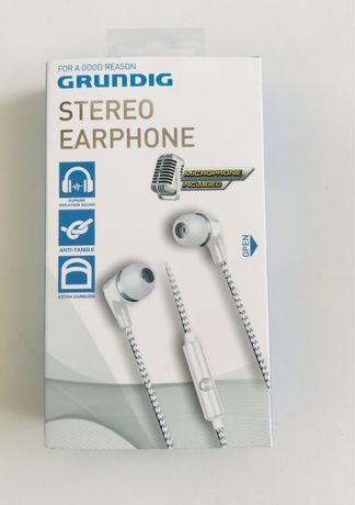 Grundig Słuchawki douszne Nowe Mikrofon ###