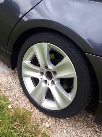 """Alufelgi 17"""" 5x120 BMW e60 e90 f30 x3 opony lato 225/45/17"""