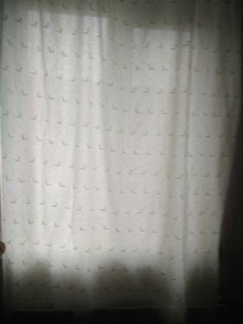 Штора на узкое окно