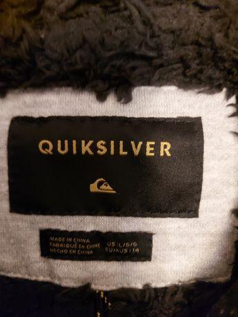 Casaco Quiksilver T: 14 anos.
