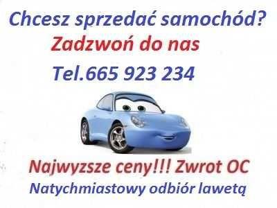 Skup Aut Olsztyn i okolice 100km/Najwyższe ceny/Zwrot OC