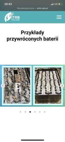 Regeneracja akumulatorów trakcyjnych/ baterii
