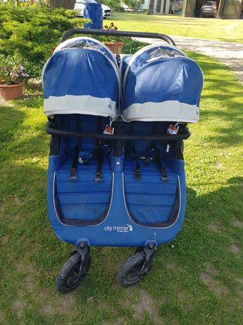 Wózek bliźniaczy/rok po roku - Baby Jogger City Mini GT Double