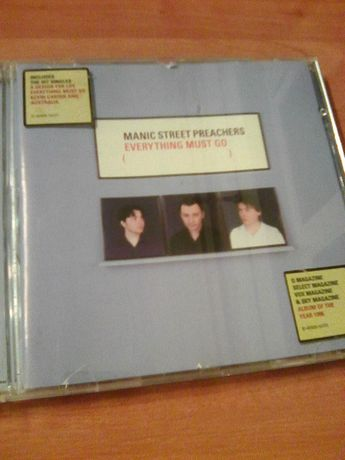 Manic Street Preachers Everything Must Go