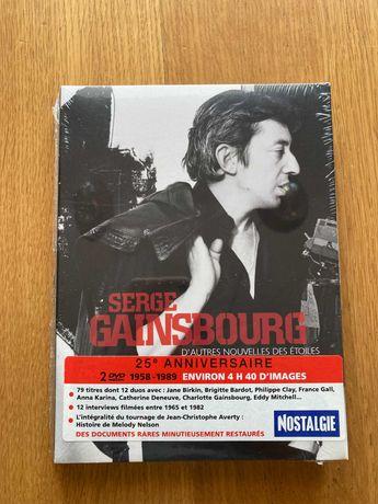 DVD duplo Serge Gainsbourg