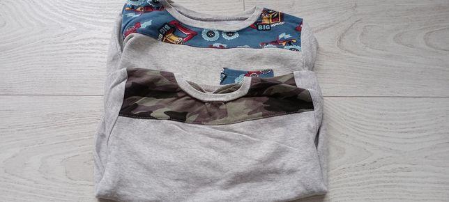 Bluzy dresowe dla chłopca komplet