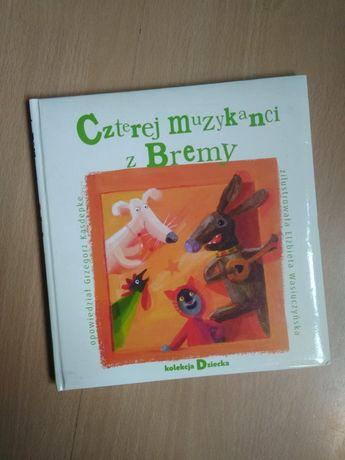 książka dla dzieci czterej muzykanci z bremy