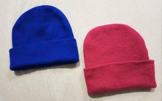 Czapka zimowa smerf Smerfetka beanie różowa niebieska unisex