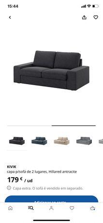 Capa sofá KIVIK 2 lugares