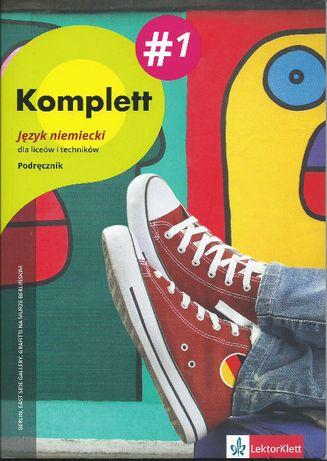 Komplett 1. Podręcznik wieloletni + 2 CD niemiecki