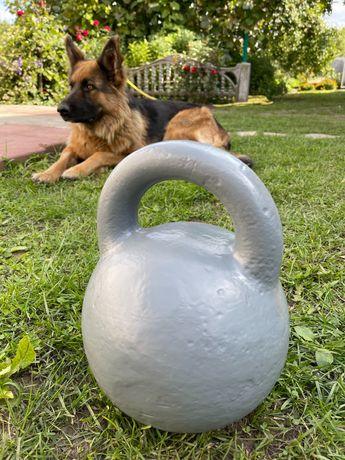 Гиря 32 кг спортивная