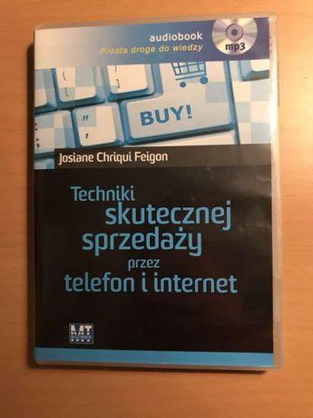 """Audiobook, """"Techniki skutecznej sprzedaży przez internet"""""""