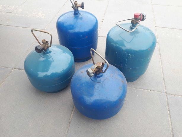 Butle gazowe turystyczne małe 2,5kg  3kg pełne cena za szt.