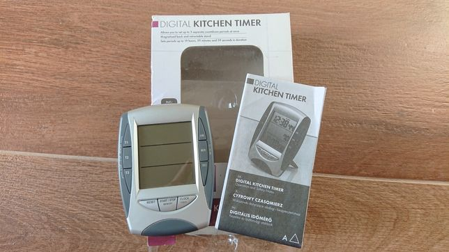 Cyfrowy czasomierz do kuchni timer digital kichen
