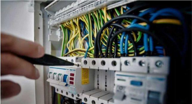 Elektryk z uprawnieniami,Awarie - montaż
