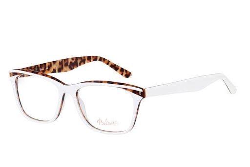 Belutti oprawki okulary biale panterka BLP010