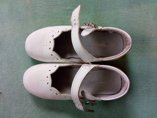 Туфлі ортопедичні шкіряні дівчинки