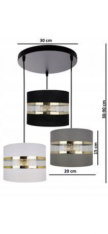LAMPA wisząca, abażur  LED