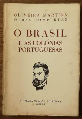 o brasil e as colónias portuguesas, oliveira martins