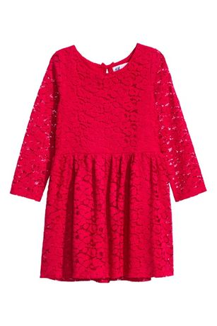 58-> koronkowa sukienka H&M ciemny granat r.98/104 2-4Y JAK NOWA