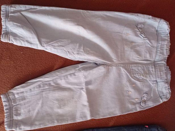 5 par dżinsów dla dziewczynki