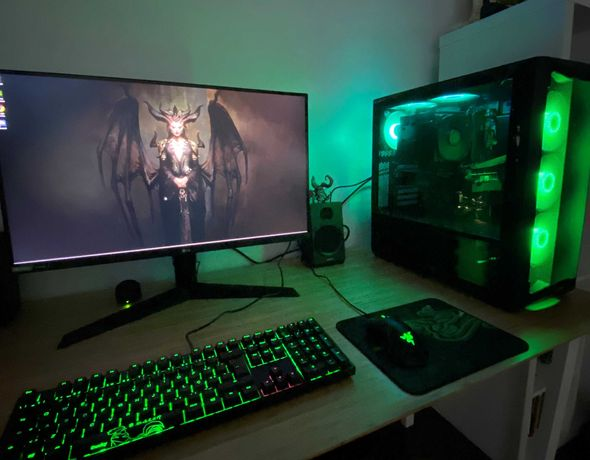Gaming PC - NVidia, AMD Ryzen, MSI, LG, Phanteks, Ducky, SSD