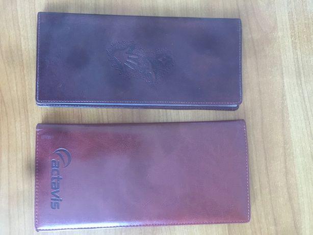 Визитницы для разных карточек ежедневник