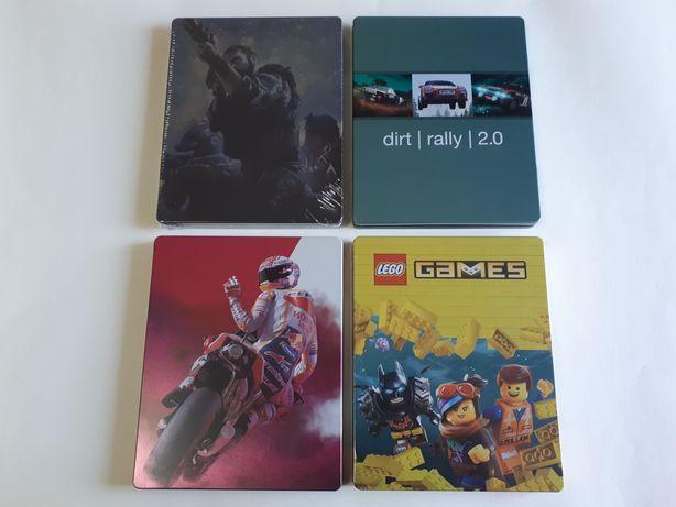 Steelbook Moto GP 19 / Lego games // Porta-chaves Darksiders horsemen