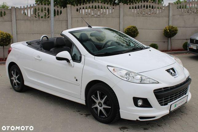 Peugeot 207 CC 2012r KABRIO 1.6 benzyna 120KM 117tys km