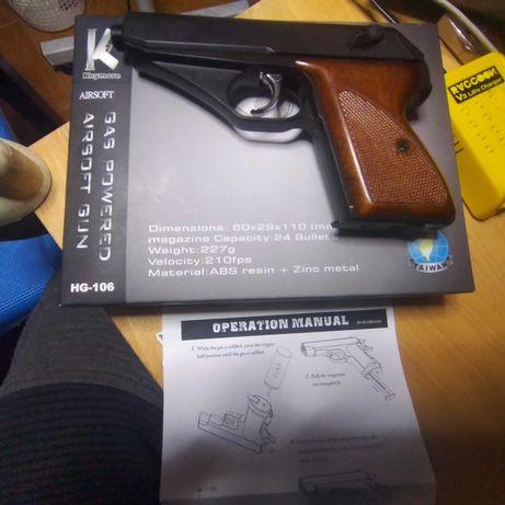 Pistola gás Airsoft