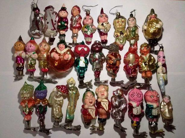Ёлочные игрушки СССР ЧИПОЛЛИНО КАТАЛОЖНЫЕ 29 игрушек