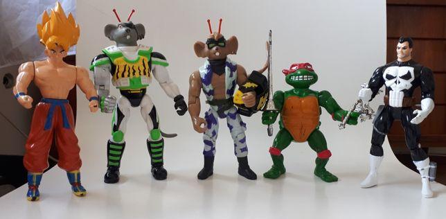 Bonecos figuras anos 90