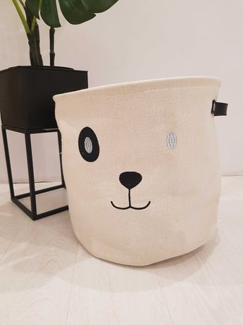 Pojemnik na zabawki panda miś