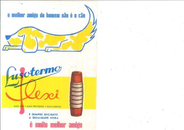 1960 Publicidade Flexi da Lusotermo Coleiras para Cães