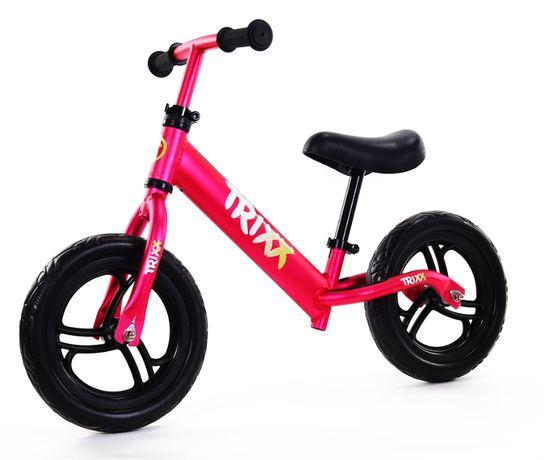 Bardzo Lekki Rower Biegowy Rowerek dla Dzieci ALUMINIOWY 1,9kg RÓŻOWY